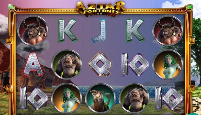 Gokkast Aztar Fortunes Gameplay
