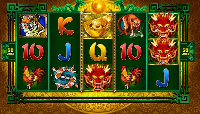 Gokkast Dragon Power Gameplay