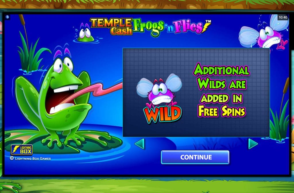Sommige Wilds verschijnen ook tijdens de Free Spins Bonus