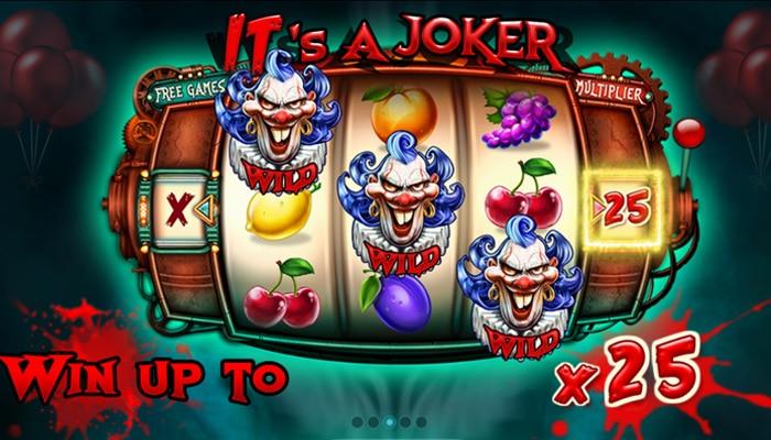 Gokkast It's a Joker Gameplay