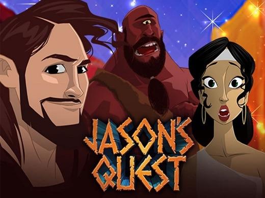 Gokkast Jason's Quest Logo