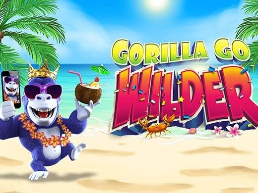Gokkast Slot 'n Roll Gorilla Go Wilder