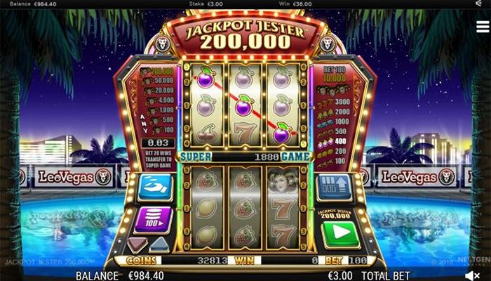 Jackpot Jester 200000 Gameplay