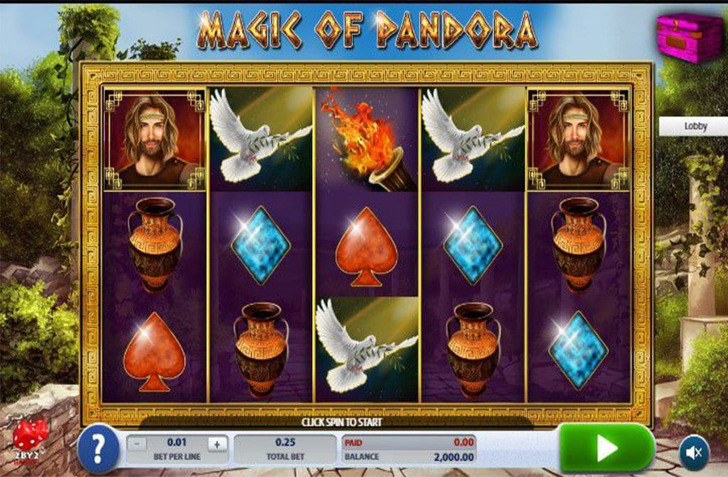 Magic of Pandora van 2 By 2 Gaming