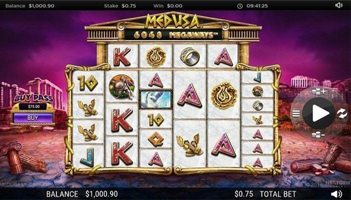 Medusa Megaways Gameplay