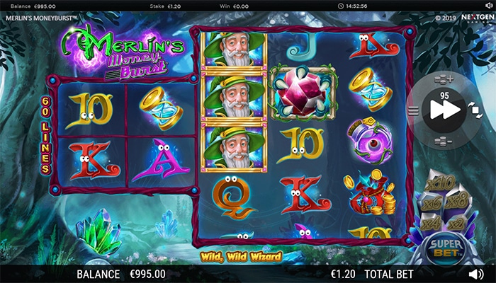 Merlin's Money Burst Gameplay