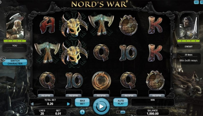 Nord's War Gameplay