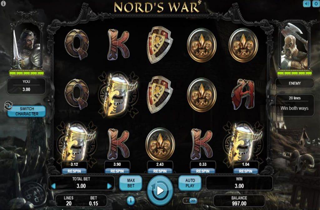 Nord's War van Booongo