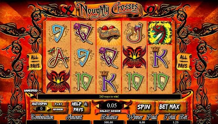 Noughty Crosses Gameplay