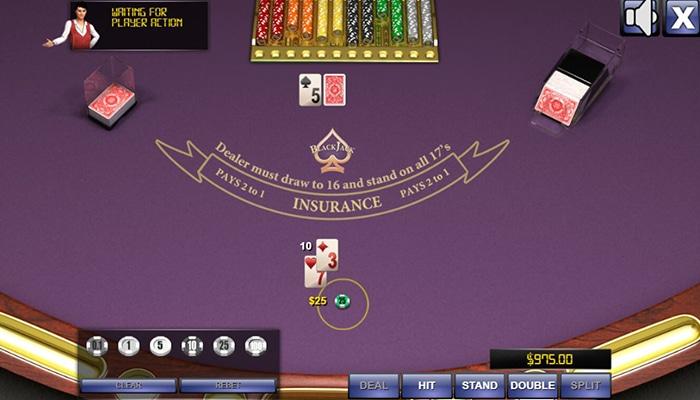 Online Blackjack is een mooi spel om mee te beginnen