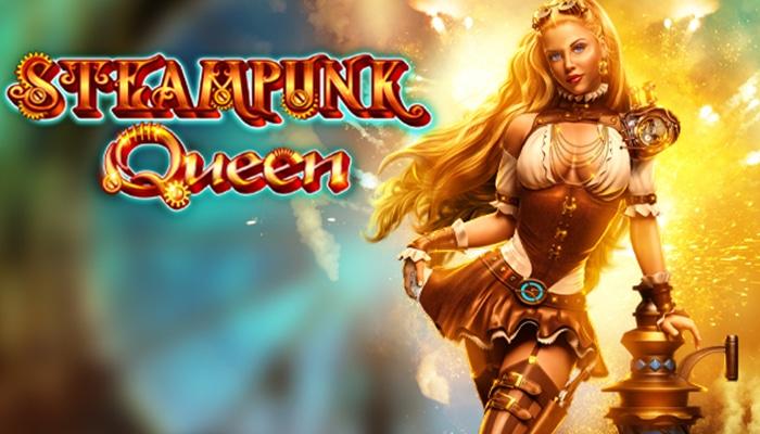 Steampunk Queen wordt de nieuwste release van Slotvision