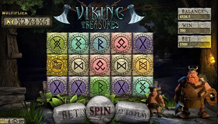 Viking Treasures Gameplay