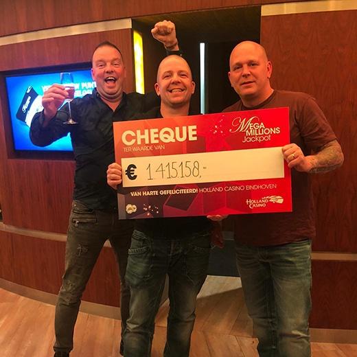 Vrienden winnen 1,4 miljoen