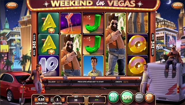 Weekend in Vegas Gameplay