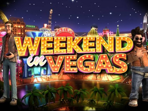 Weekend in Vegas Betsoft logo 1