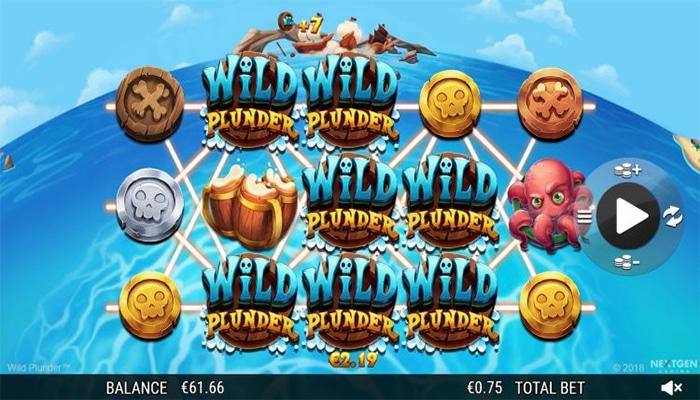 Wild Plunder Gameplay