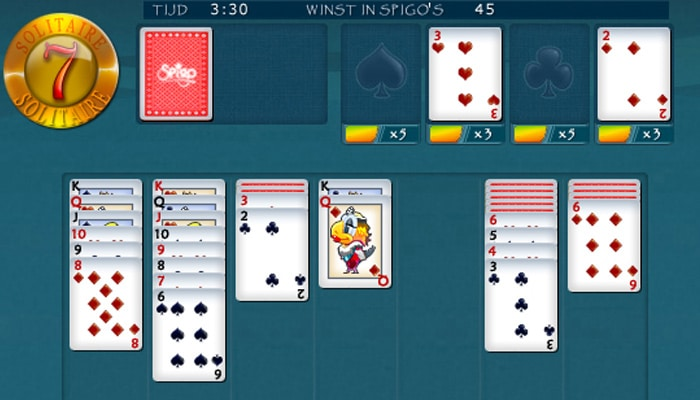 7 Solitaire Gameplay