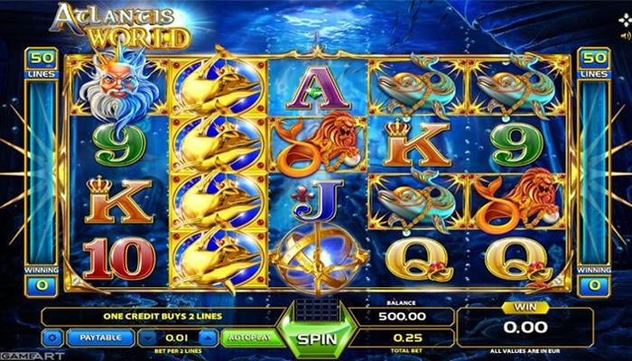 Atlantis World Gameplay