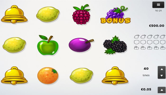 Fruits Gameplay