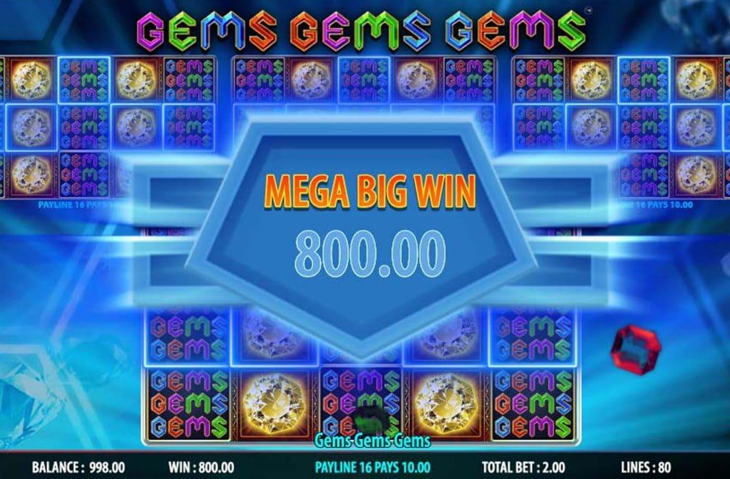 Bij Gems Gems Gems zijn er mooie bonussen te verdienen