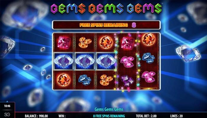 Gems Gems Gems Gameplay