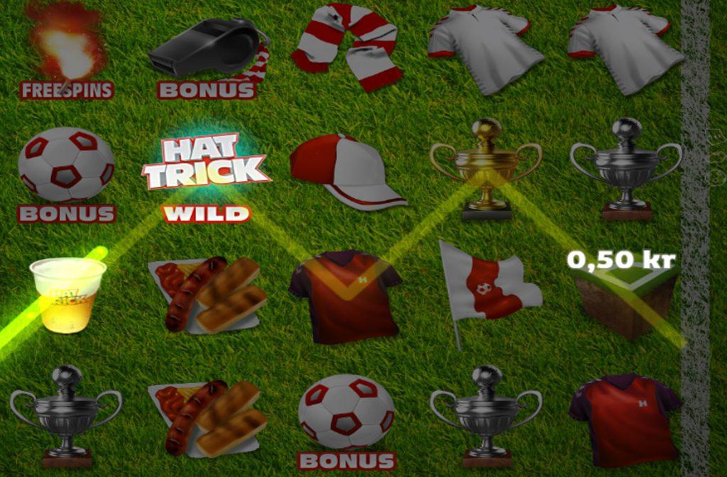 Met het Wild symbool kun je alle andere symbolen vervangen