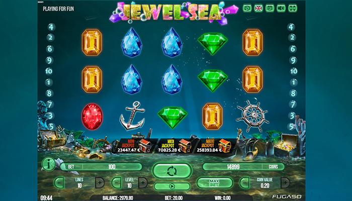 Jewel Sea Gameplay