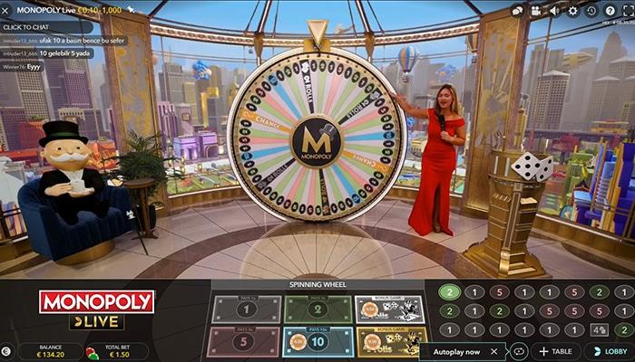 Monopoly Live in een live online casino