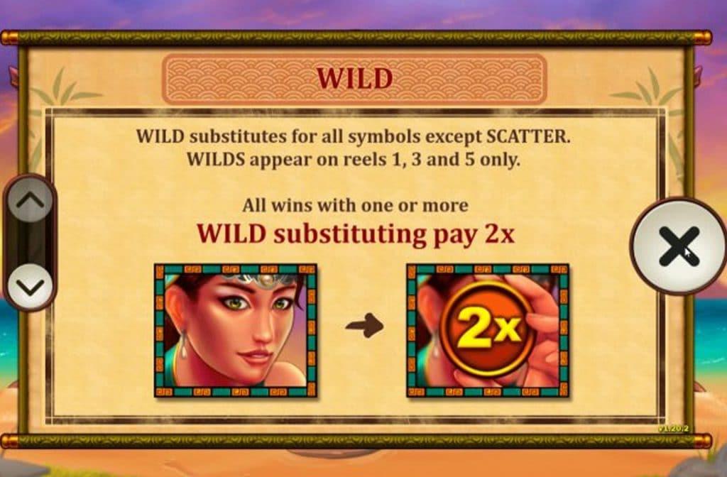 De Wild in My Fair Pearl is de mooie vrouw. Dit symbool kan alle andere vervangen