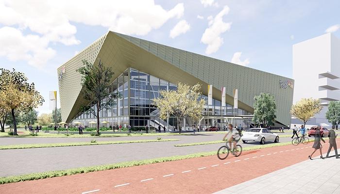 Het nieuwe Holland Casino Utrecht heeft de vorm van een diamant