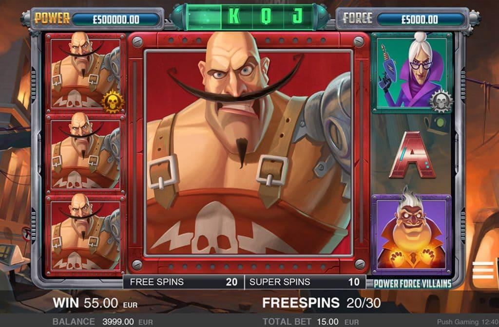 De Free Spins Bonus zorgt voor extra spanning tijdens het spelen