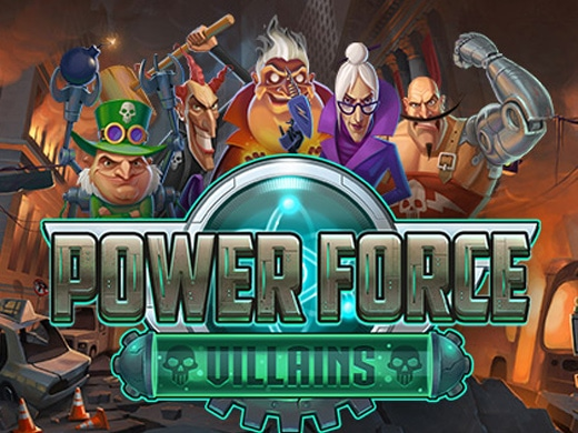 Power Force Villains Logo3