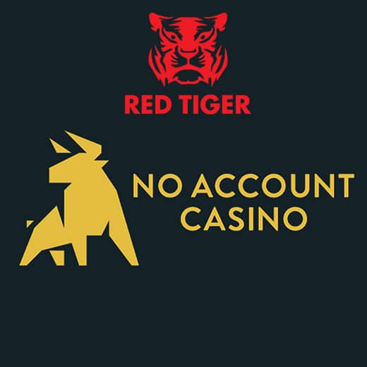 Red Tiger bij No Account Casino