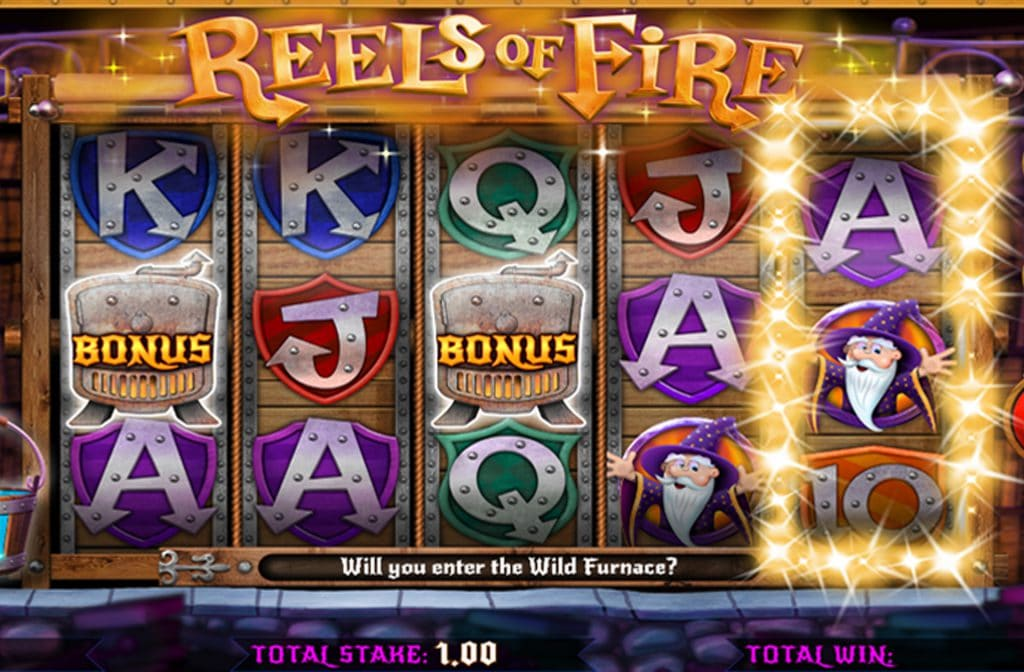 De belangrijkste bonus bij Reels of Fire is de Free Spins Bonus