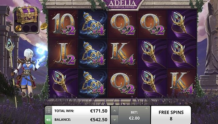Adelia The Fortune Wielder Gameplay