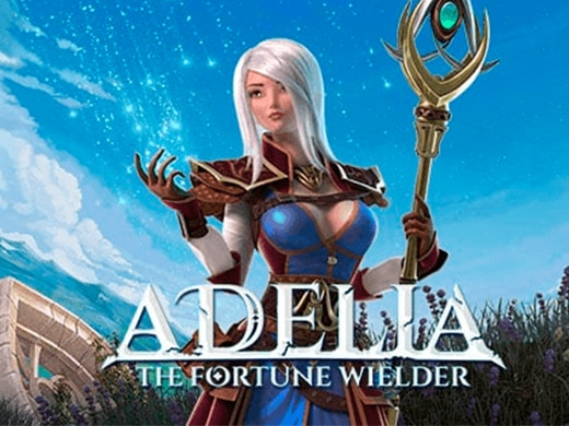 Adelia the fortune wielder logo1