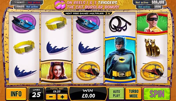 Batman & Catwoman Cash Gameplay
