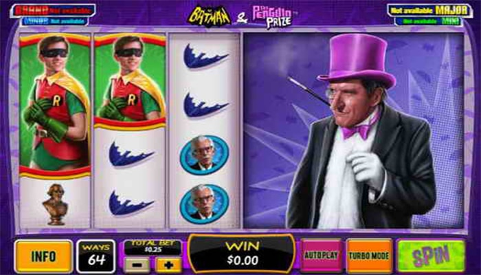 Batman and The Penguin Prize Gameplay