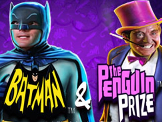 Batman and The Penguin logo1Prize Logo