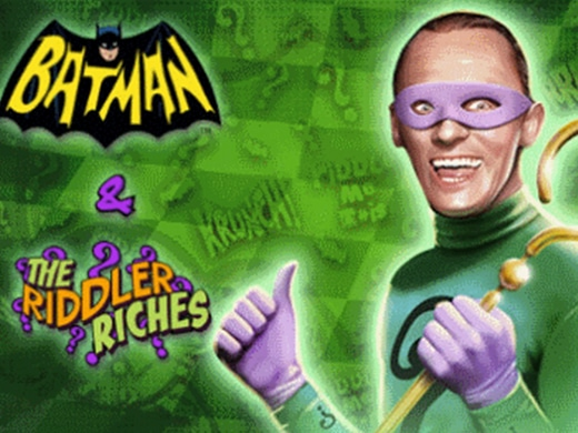 Batman and The Riddler Riches logo