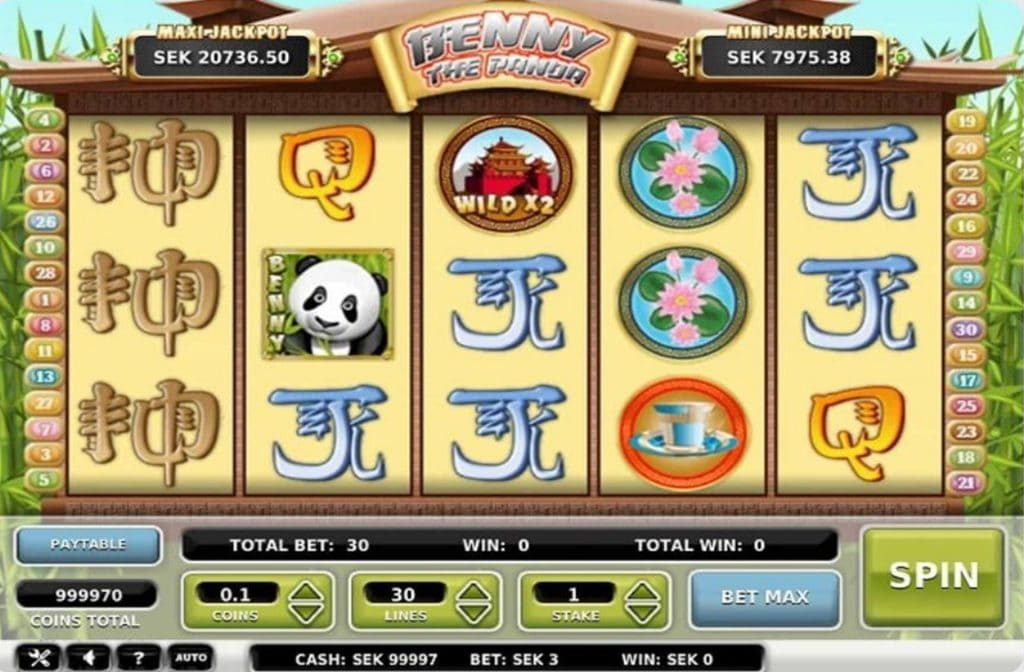 Benny The Panda van Omi Gaming