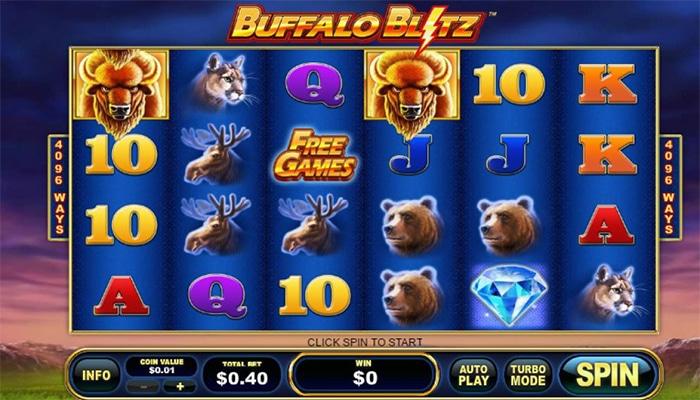 Buffalo Blitz Gameplay