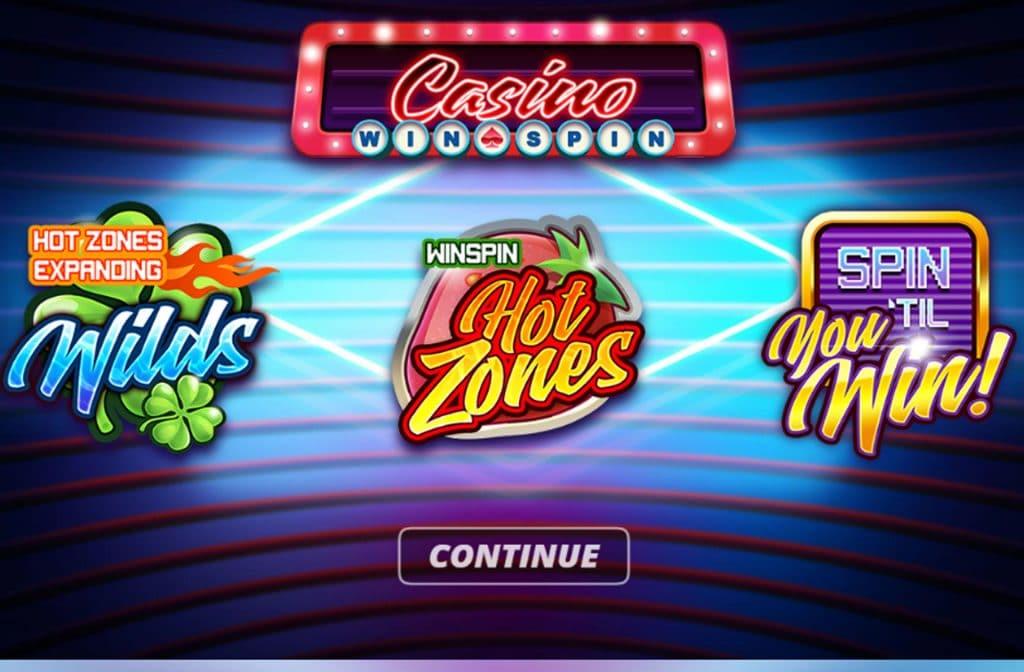 Een perfecte bonus bij Casino Win Spin zijn de Hot Zones