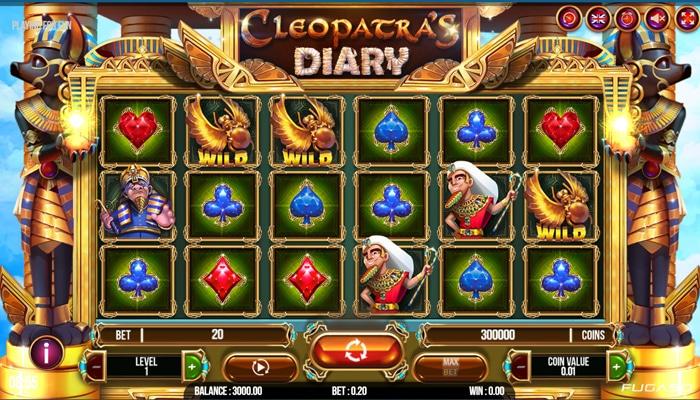Cleopatra's Diary Gameplay