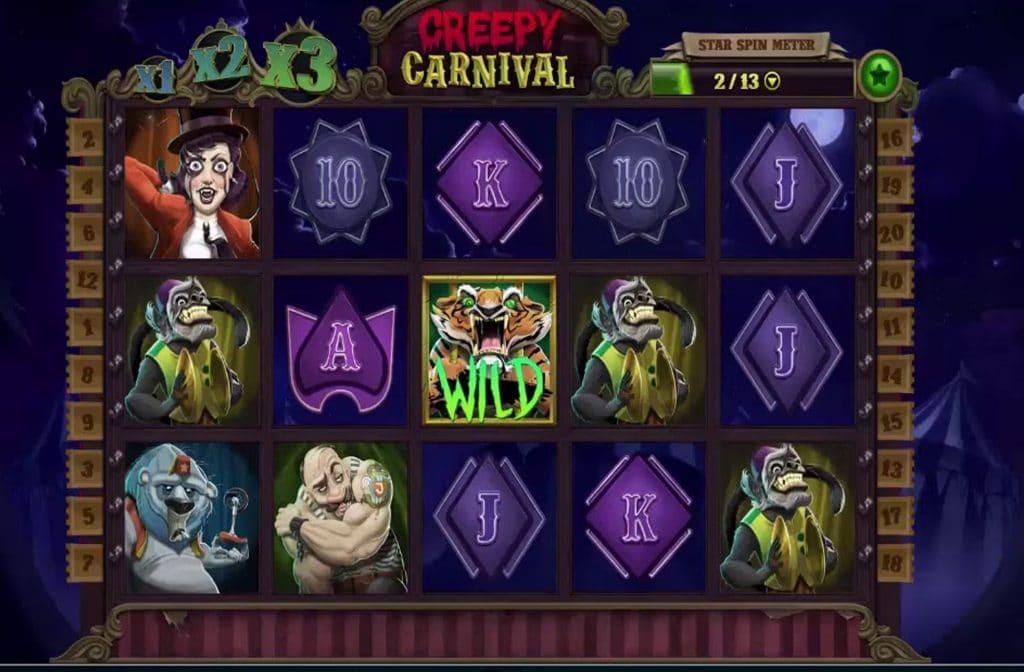De Wild in Creepy Carnival is een gevaarlijke tijger