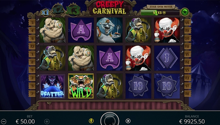 Creepy Carnival Gameplay