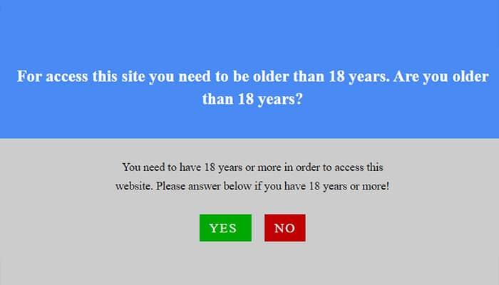 Dit soort leeftijdsverificaties zijn niet afdoende