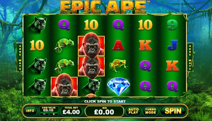 Epic Ape Gameplay