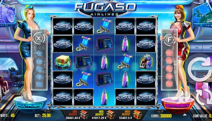 Fugaso Airlines Gameplay