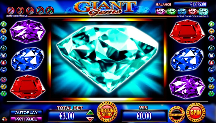 Giant Gems Gameplay